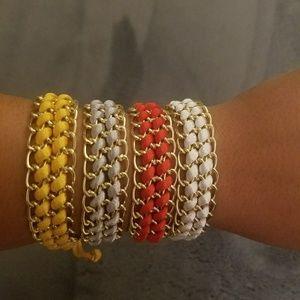 Jewelry - Chain & Thread Bracelet